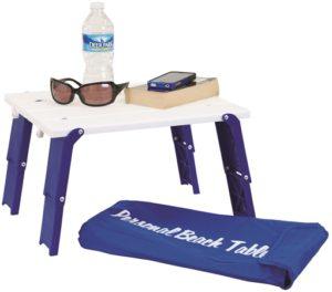 personal beach umbrella table
