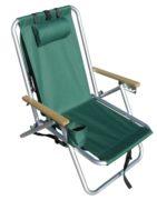 Rio SC540 Backpack Beach Chair Green