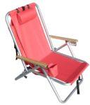 Rio SC540 Backpack Beach Chair Red