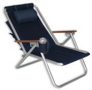 Rio SC540 Backpack Beach Chair Navy Blue