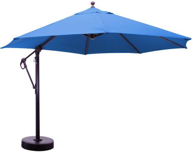 11 Foot Sunbrella Cantilever Offset Aluminum Patio Umbrella