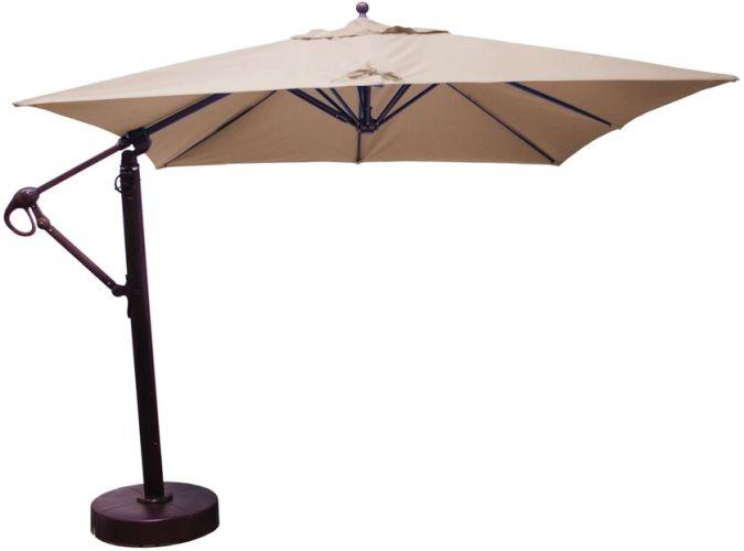 10x10 Cantilever Umbrella Galtech 897