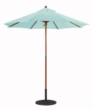 7.5' Wood Umbrella Galtech 221