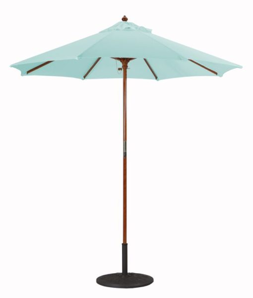 7.5′ Wood Umbrella Galtech 221