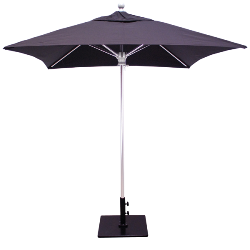 6×6 square silver umbrella 762