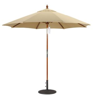 9 Wood Umbrella Galtech 239