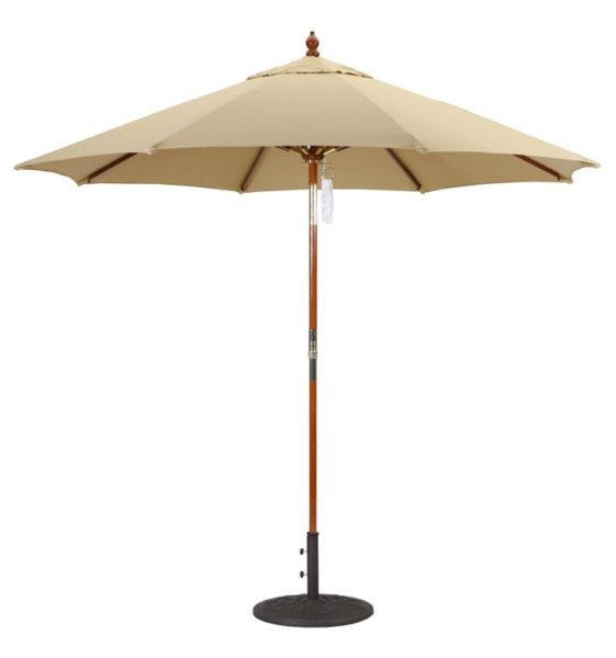 9 Wood Umbrella Galtech 239