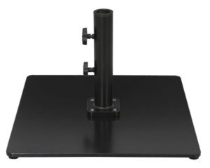 60 or 80 pound steel plate patio umbrella base