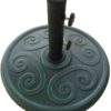 umbrella base bronze