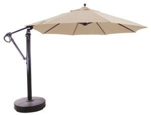 Galtech 887 cantilever umbrella