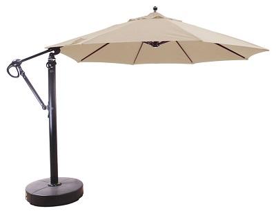 72dc15b719 11′ Sunbrella® B Aluminum Cantilever Market Umbrella