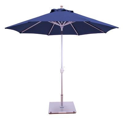Galtech 738 driftwood look 9' patio umbrella