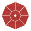 Sunbrella A Crimson Dupione