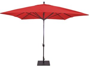Galtech Model 799 10' Square auto Tilt Patio Umbrella