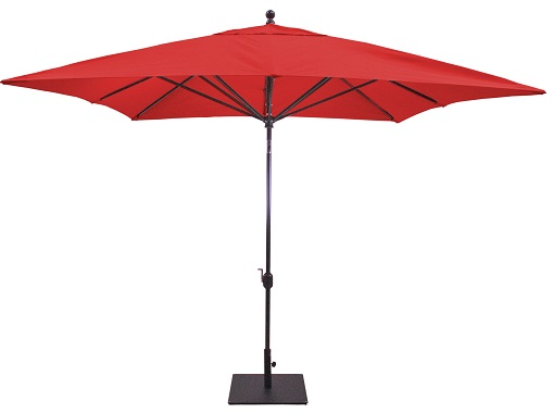 Galtech Model 799 10' Square auto Tilt Patio Umbrella