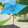 Galtech 799 10' x 10' Sunbrella Auto Tilt umbrella