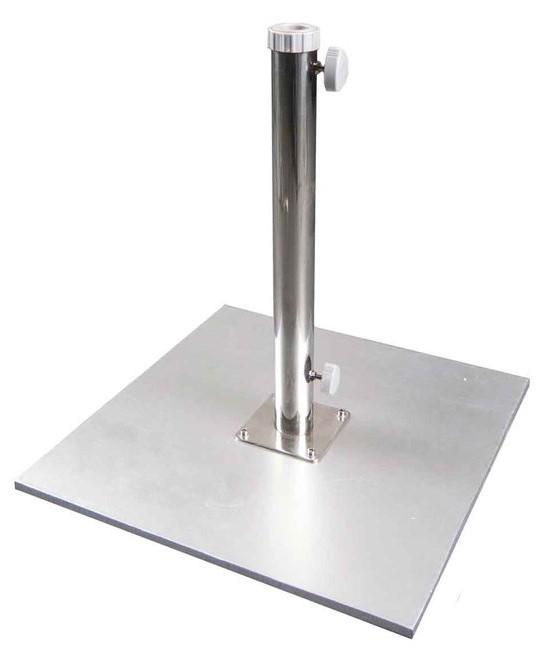 Galvanized Patio Umbrella Base 110 Pounds