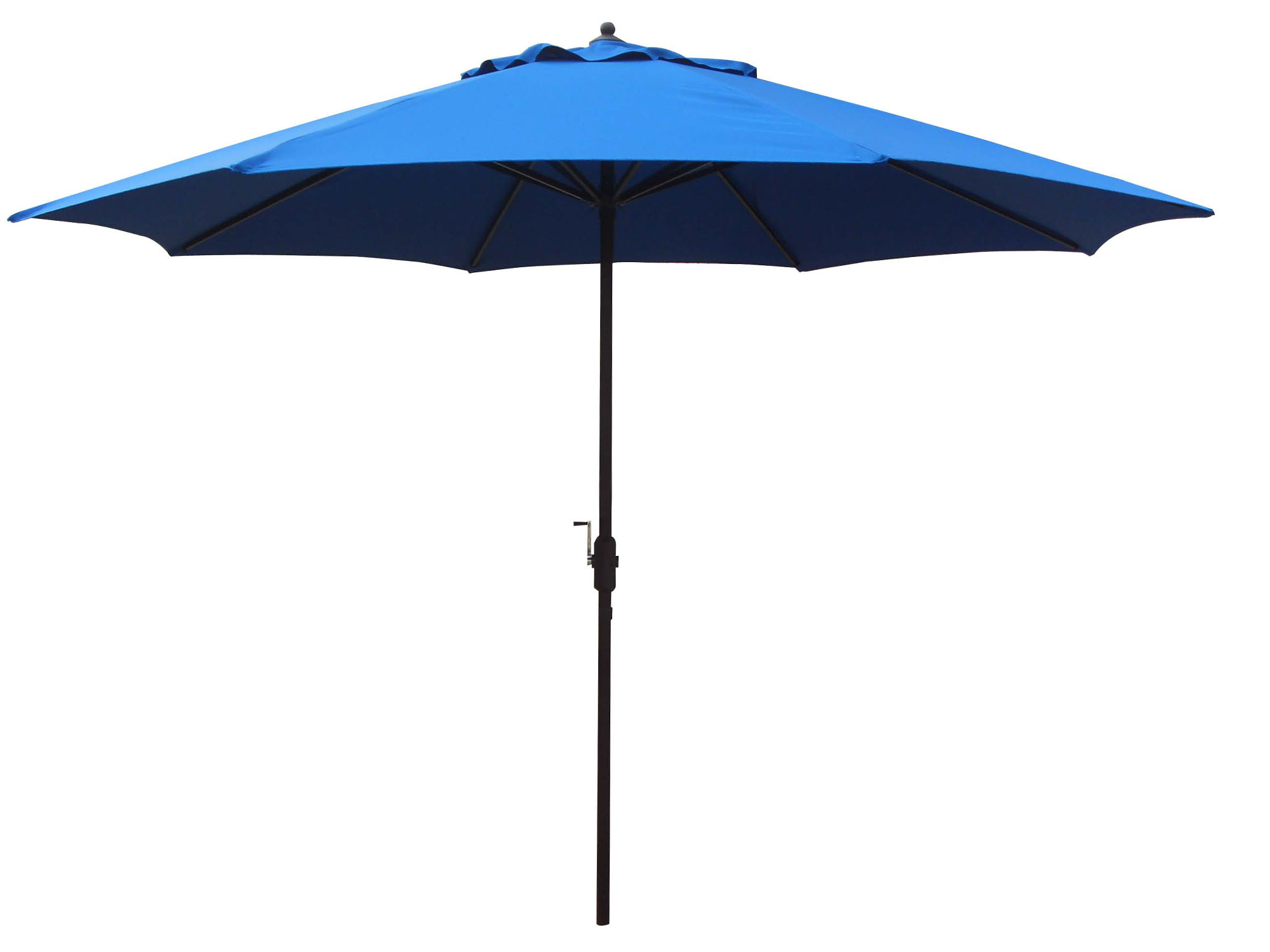 11' Foot Aluminum Patio Umbrella Royal Blue