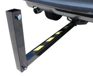 Motobrella tailgate hitch