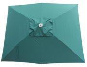 Green Rectangular Patio Umbrella