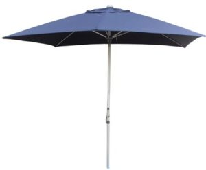 Navy Blue Rectangular Patio Umbrella