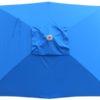 Royal Blue Rectangular Patio Umbrella