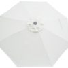 Natural Canvas Poly Umbrella Canopy Cover