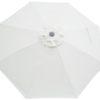 Natural Canvas Poly Umbrella Canopy Cover